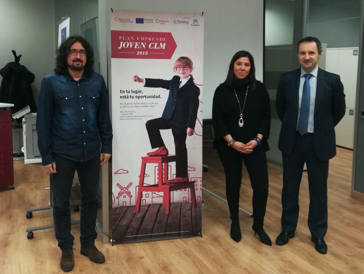 """El coworking Santa María de Benquerencia acoge el primer itinerario del programa regional """"Emprende Joven CLM 2018"""""""