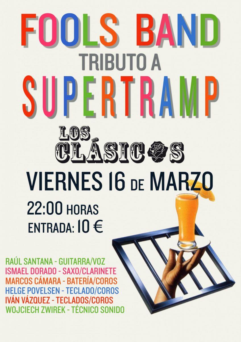 http://www.toledo.es/wp-content/uploads/2018/02/fools-bandcartel-848x1200.jpg. Fools Band (Tributo a Supertramp)