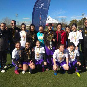 La Copa de Oro de Fútbol Femenino que se ha jugado en Toledo da la victoria al Cobeja