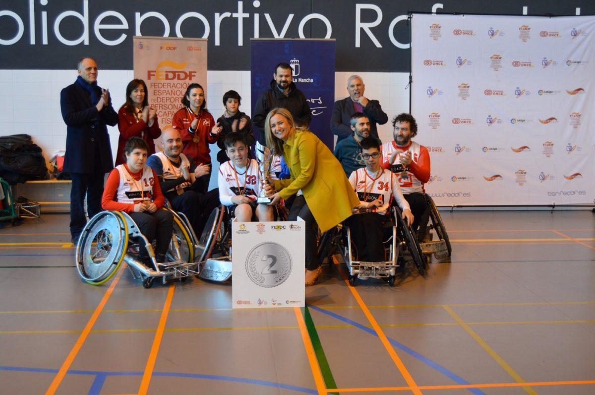 La selección de Cataluña de rugby en silla de ruedas se hace con la victoria en el campeonato nacional disputado en el Rafael del Pino