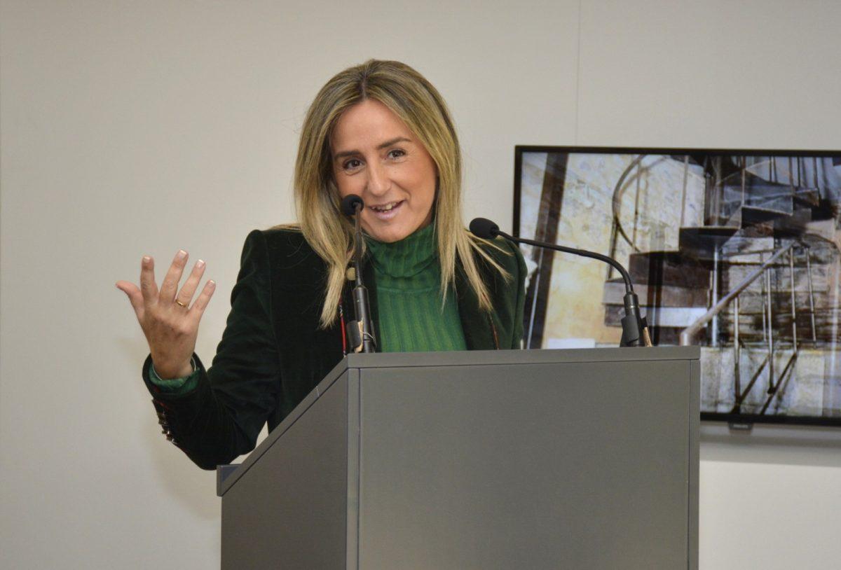 """http://www.toledo.es/wp-content/uploads/2018/02/mila-en-presentacion-expo-consorcio-1200x814.jpg. Milagros Tolón: """"Los Presupuestos de 2019 serán un espaldarazo importante para el desarrollo económico y social de la ciudad"""""""