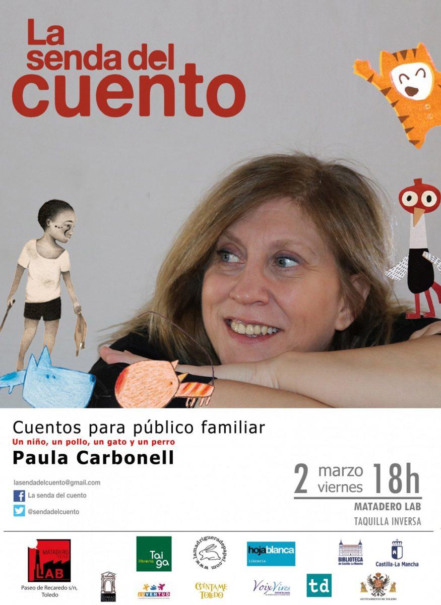 http://www.toledo.es/wp-content/uploads/2018/02/paula-carbonell-familiar-copia-875x1200.jpg. SENDA DEL CUENTO: PAULA CARBONELL: Un niño, un pollo, un gato y un perro