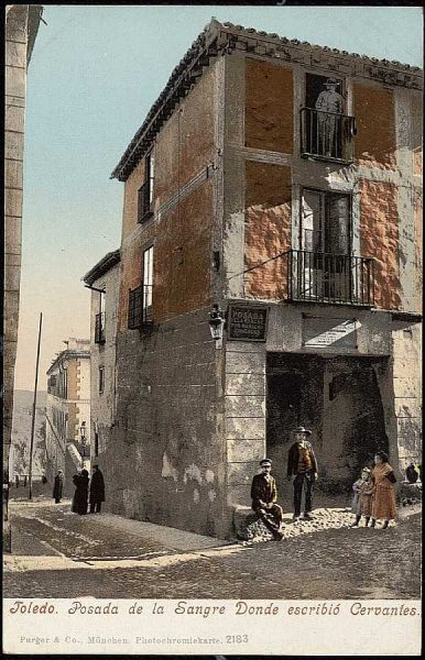 PURGER&CO_2183_Toledo - Posada de la Sangre donde escribió Cervantes
