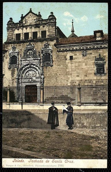 PURGER&CO_2190_Toledo - Fachada de Santa Cruz
