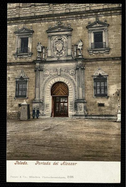 PURGER&CO_2195_Toledo - Portada del Alcázar