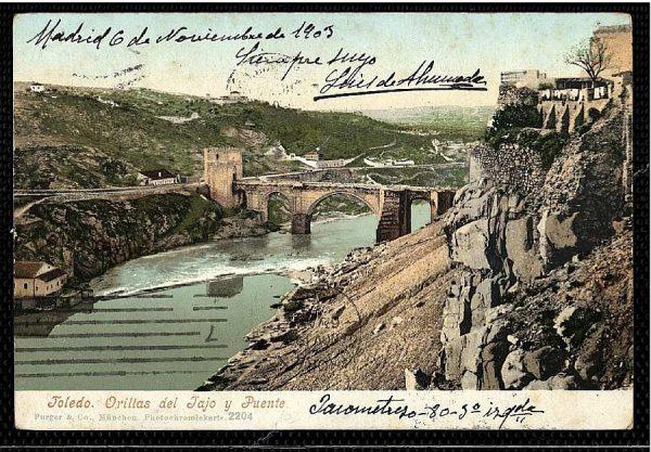PURGER&CO_2204_Toledo - Orillas del Tajo y Puente