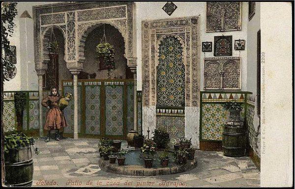 PURGER&CO_2209_Toledo - Patio de la casa del pintor Barajas