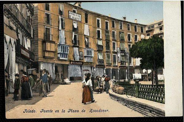 PURGER&CO_2767_Toledo - Fuente en la Plaza de Zocodover