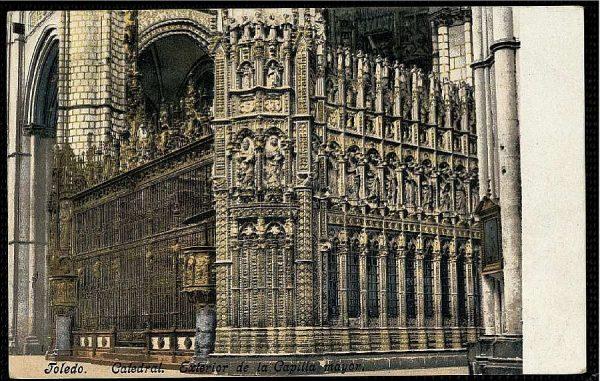 PURGER&CO_2773_Toledo - Catedral - Exterior de la Capilla Mayor