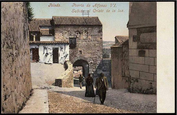 PURGER&CO_2780_Toledo - Puerta de Alfonso VI - Subida al Cristo de la Luz