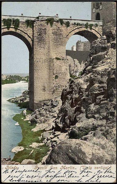 PURGER&CO_2782_Toledo - Puente de San Martín - Vista vertical