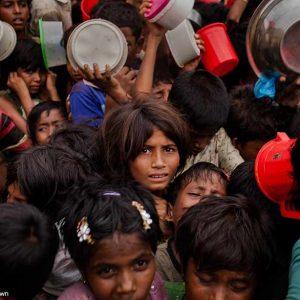 iños rohingya: tifones y más violencia empeoran su infierno