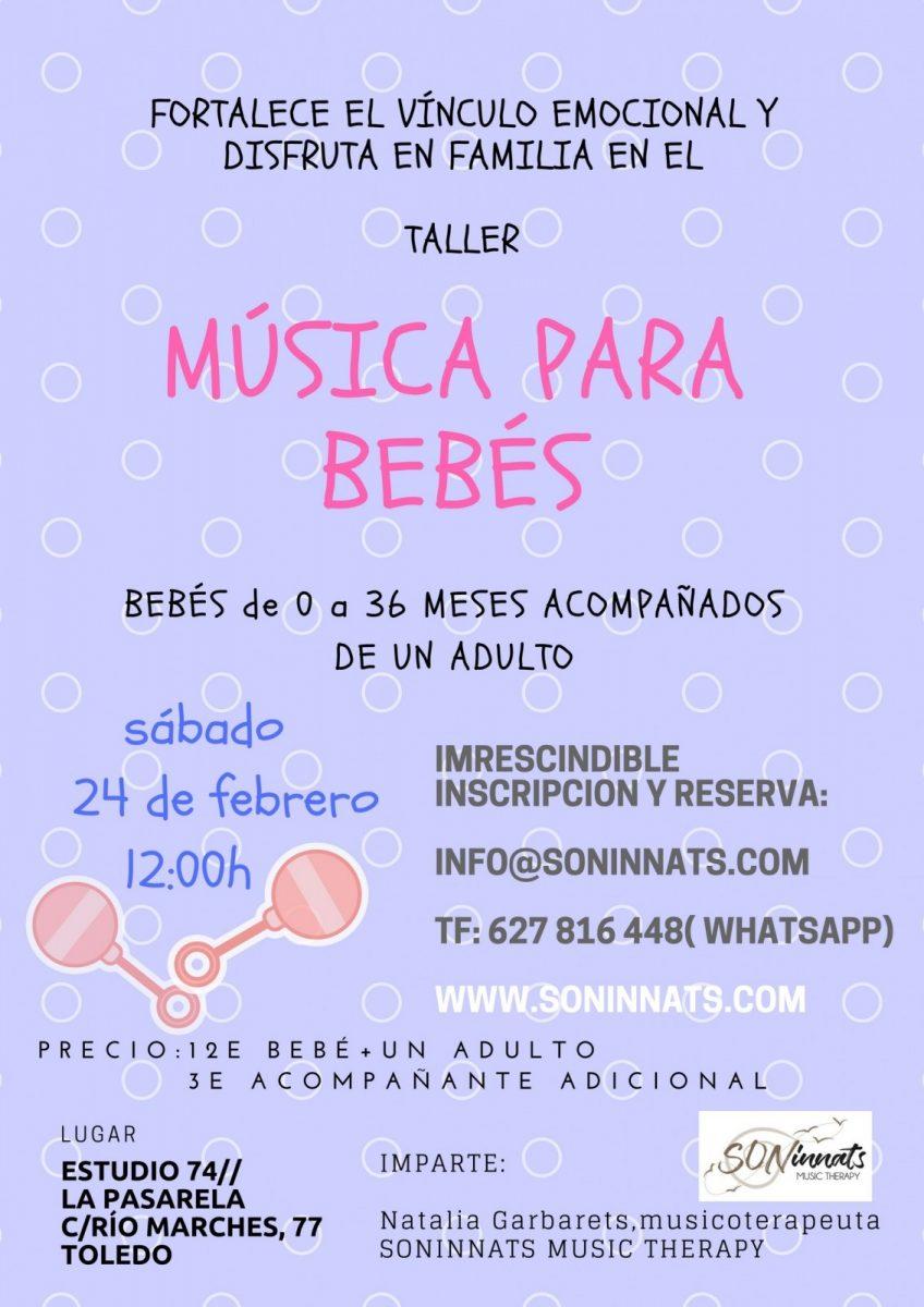 http://www.toledo.es/wp-content/uploads/2018/02/taller-musica-bebes-848x1200.jpg. Taller de MÚSICA PARA BEBÉS