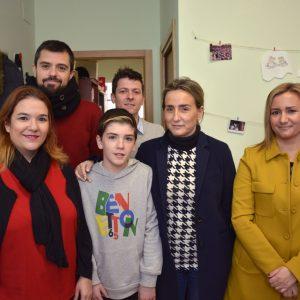 La alcaldesa traslada su apoyo y colaboración a Afanion en la semana en la que se celebra el Día Mundial del Cáncer Infantil