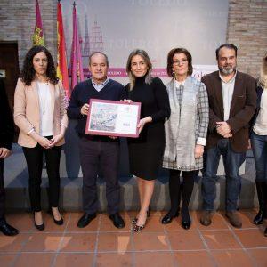 Milagros Tolón anuncia 700.000 euros para los accesos del Polígono industrial y destaca el consenso con los empresarios