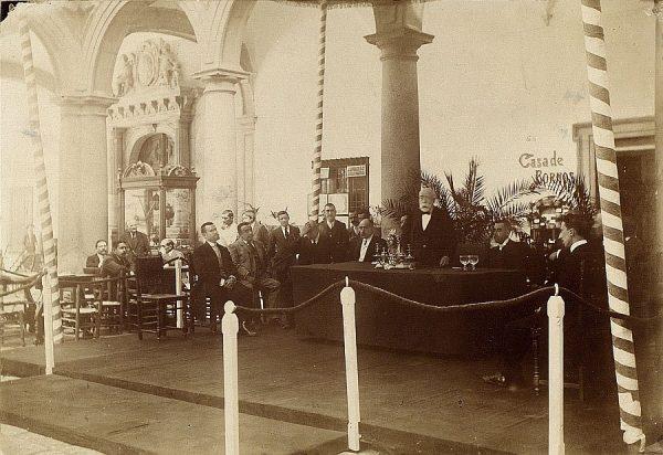 03 - Inauguración por el Conde de Casa Segovia el 15 de agosto de 1909
