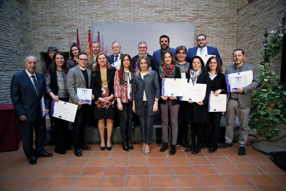 http://www.toledo.es/wp-content/uploads/2018/03/03_premios_sidtec-1-1200x800.jpg. La alcaldesa destaca la implicación del sector para que Toledo sea destino de referencia por la calidad de sus servicios turísticos