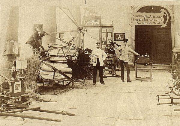 09 - Sección de Máquinas - Maquinaria presentada por Enrique Lehmann (Madrid)