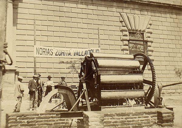 12 - Sección de Máquinas - Noria presentada por Lucas Zorita (Valladolid)
