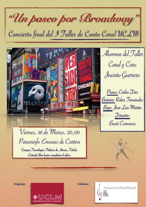 """Concierto """"Un paseo por Broadway"""""""