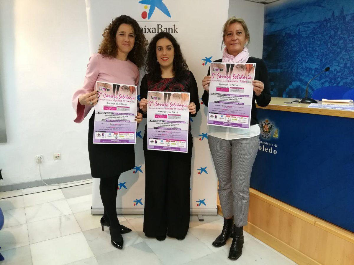La Carrera Solidaria Mujeres y Hombres por la Igualdad que se enmarca en el Festival Fem18 suma este domingo cinco ediciones