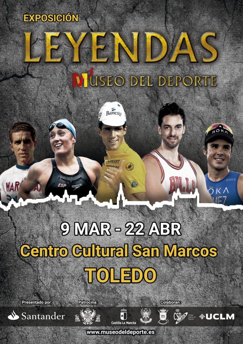 https://www.toledo.es/wp-content/uploads/2018/03/cartel-deporte-848x1200.jpg. Leyendas / Museo del Deporte / del 9 de marzo al 22 de abril