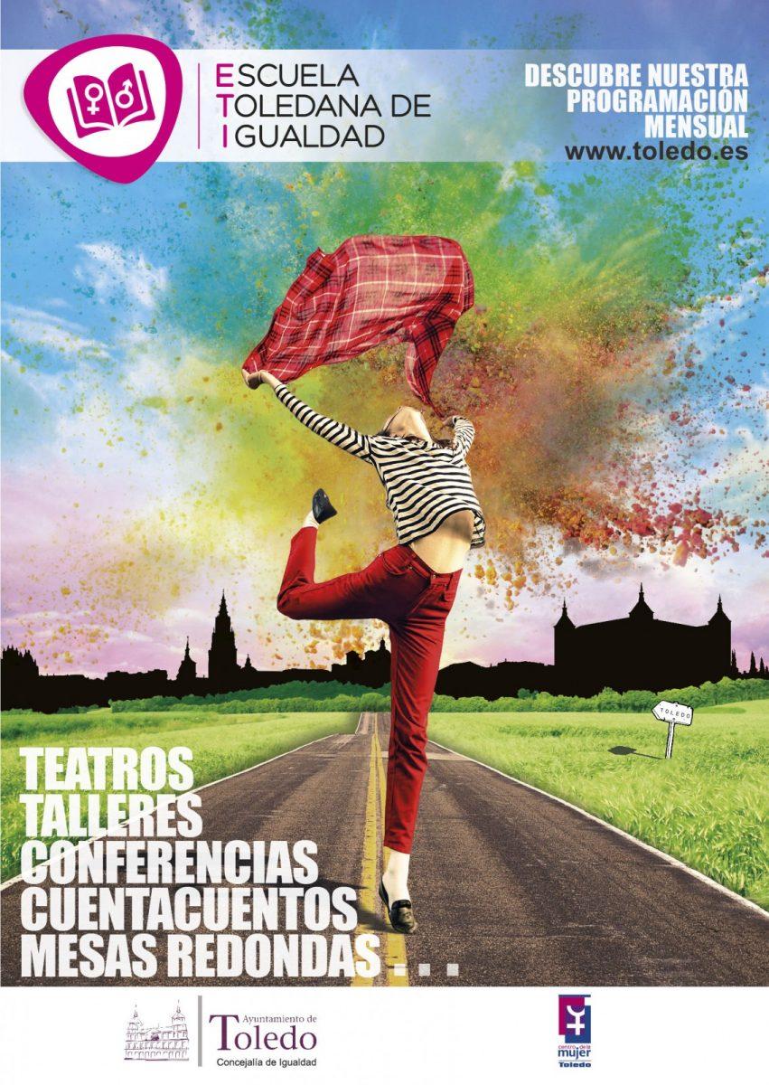 http://www.toledo.es/wp-content/uploads/2018/03/cartel-escuela-de-igualdad.pdf-851x1200.jpg. Programa Escuela Toledana de Igualdad