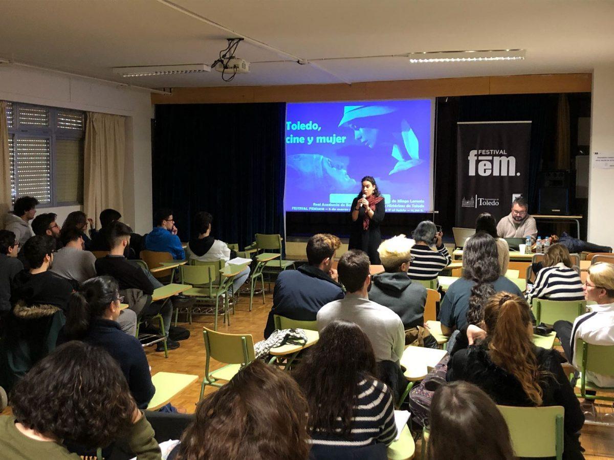 Un recorrido por el papel de la mujer en el cine, propuesta del Festival Fem 18 para los alumnos del Alfonso X 'El Sabio'