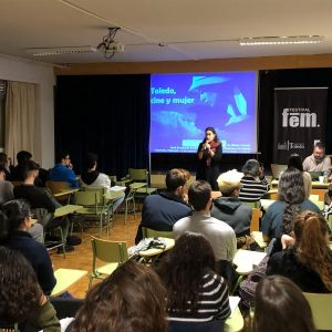 n recorrido por el papel de la mujer en el cine, propuesta del Festival Fem 18 para los alumnos del Alfonso X 'El Sabio'