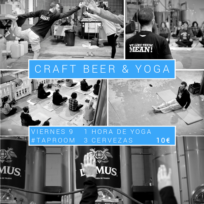 CRAFT BEER & YOGA