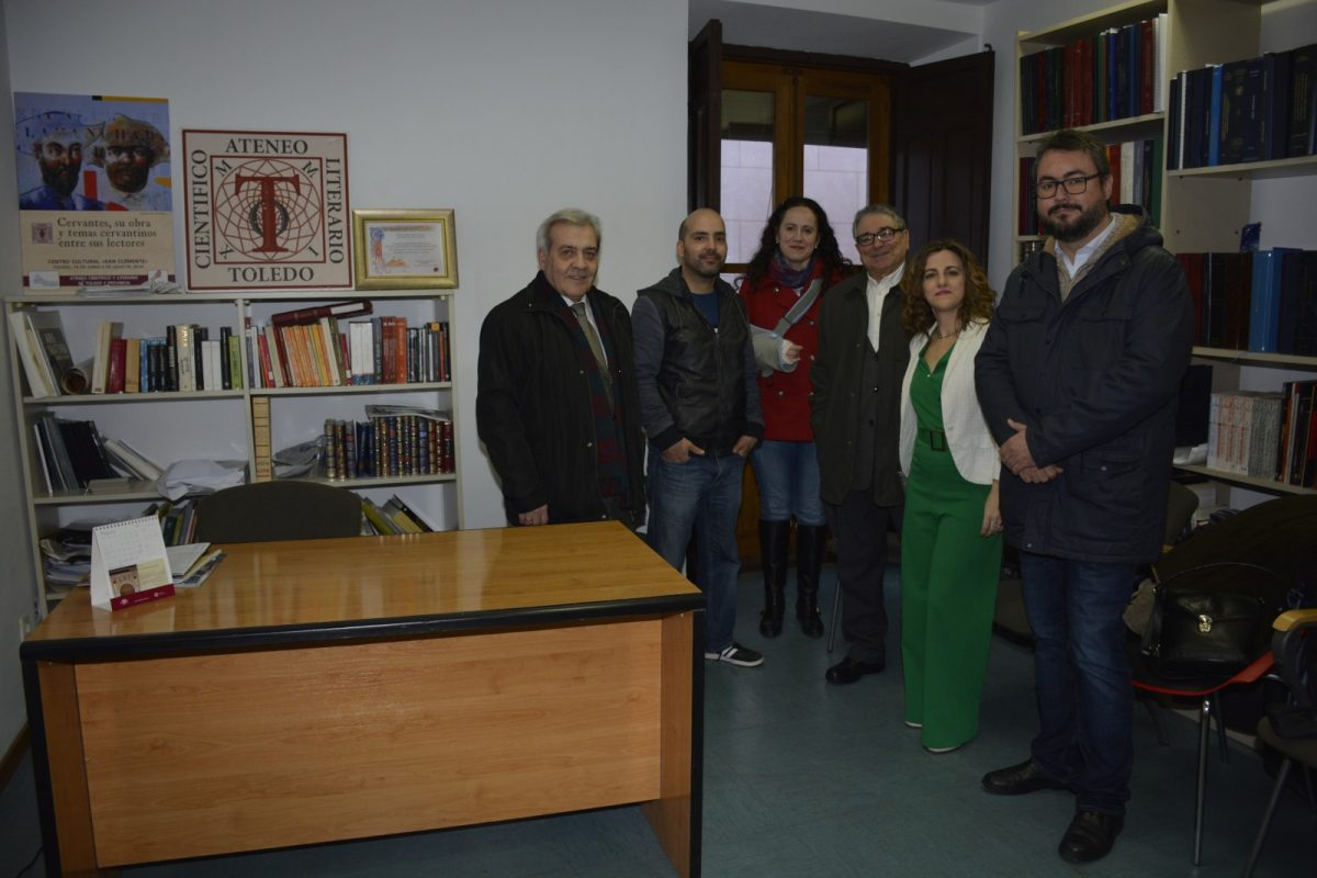 El Ayuntamiento participa en el acto de inauguración de la nueva Sede Social del Ateneo