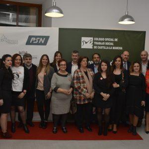 El equipo de Gobierno participa en la entrega de Premios de Trabajo Social de Castilla-La Mancha 2018