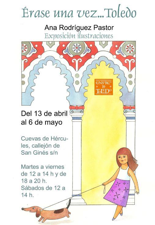 """Exposición de Acuarelas """"Érase una vez … Toledo"""""""