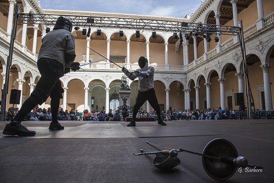 Demostración de Esgrima Antigua