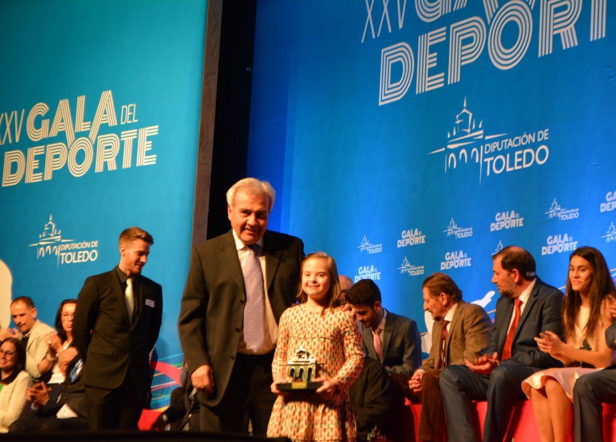 El Ayuntamiento participa en la Gala del Deporte de la Diputación que celebra este año sus bodas de plata