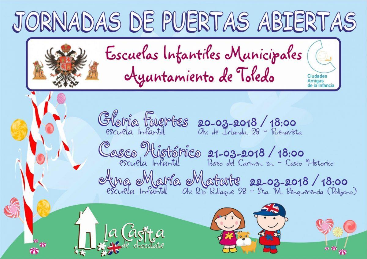 El Ayuntamiento de Toledo organiza jornadas de puertas abiertas en las escuelas infantiles municipales