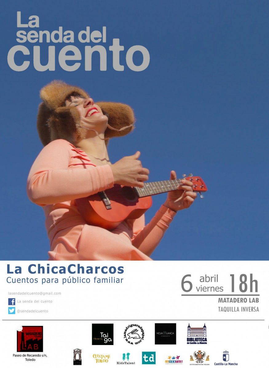 SENDA DEL CUENTO: LA CHICA CHARCOS Microconcierto de historias