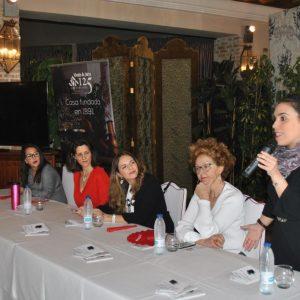rranca el Festival Fem18 con la mesa redonda 'Mujeres del siglo XXI y trayectorias profesionales' con gran éxito de público