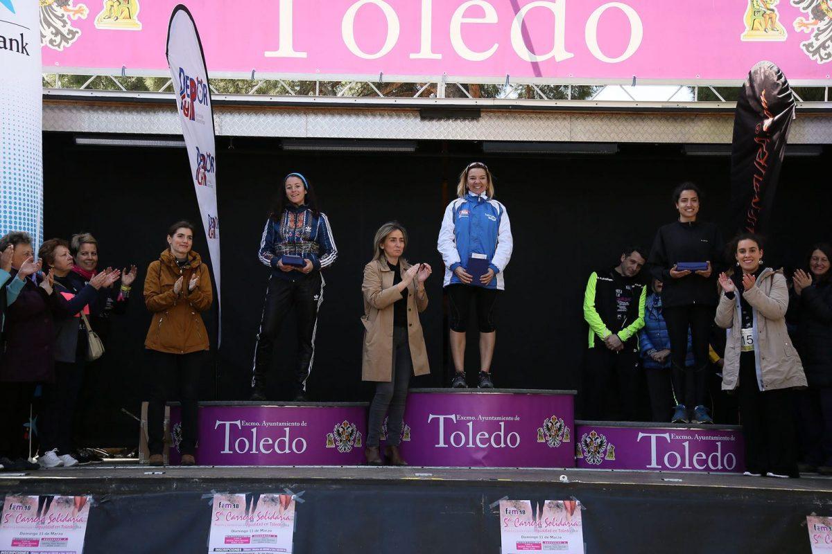 Milagros Tolón destaca el compromiso de la sociedad toledana con la igualdad entre mujeres y hombres, la solidaridad y el deporte