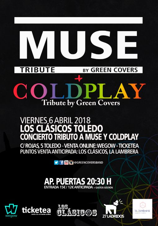 GREEN COVERS – TRIBUTO A MUSE Y COLDPLAY