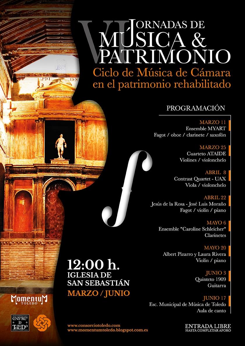 Ciclo de música y patrimonio: Cuarteto Ataide