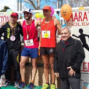 El Ayuntamiento colabora en la VII edición de la Maratón Solidaria en la que han participado medio centenar de atletas