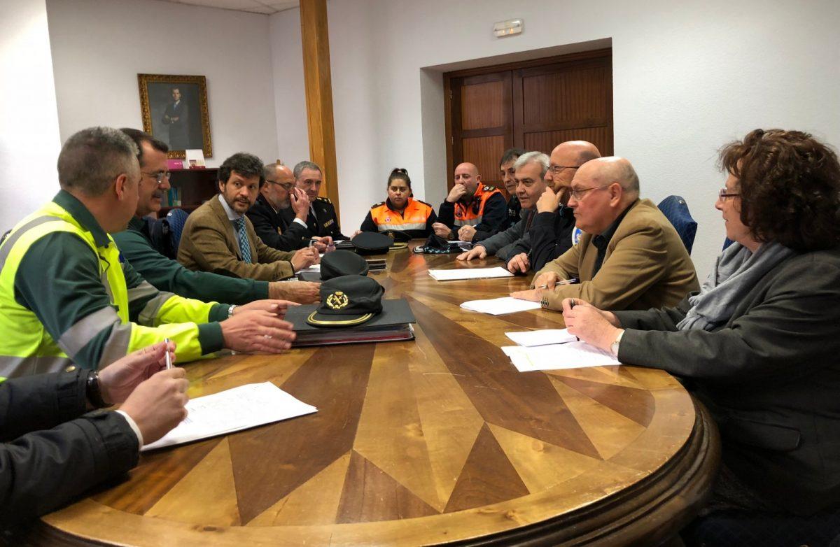 La Junta de Local de Seguridad se reúne para coordinar el operativo de Semana Santa