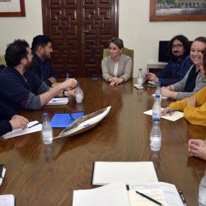 l Grupo de Solidaridad 365+1 recibe el respaldo de la alcaldesa a las iniciativas previstas para los próximos meses por estas ONGs
