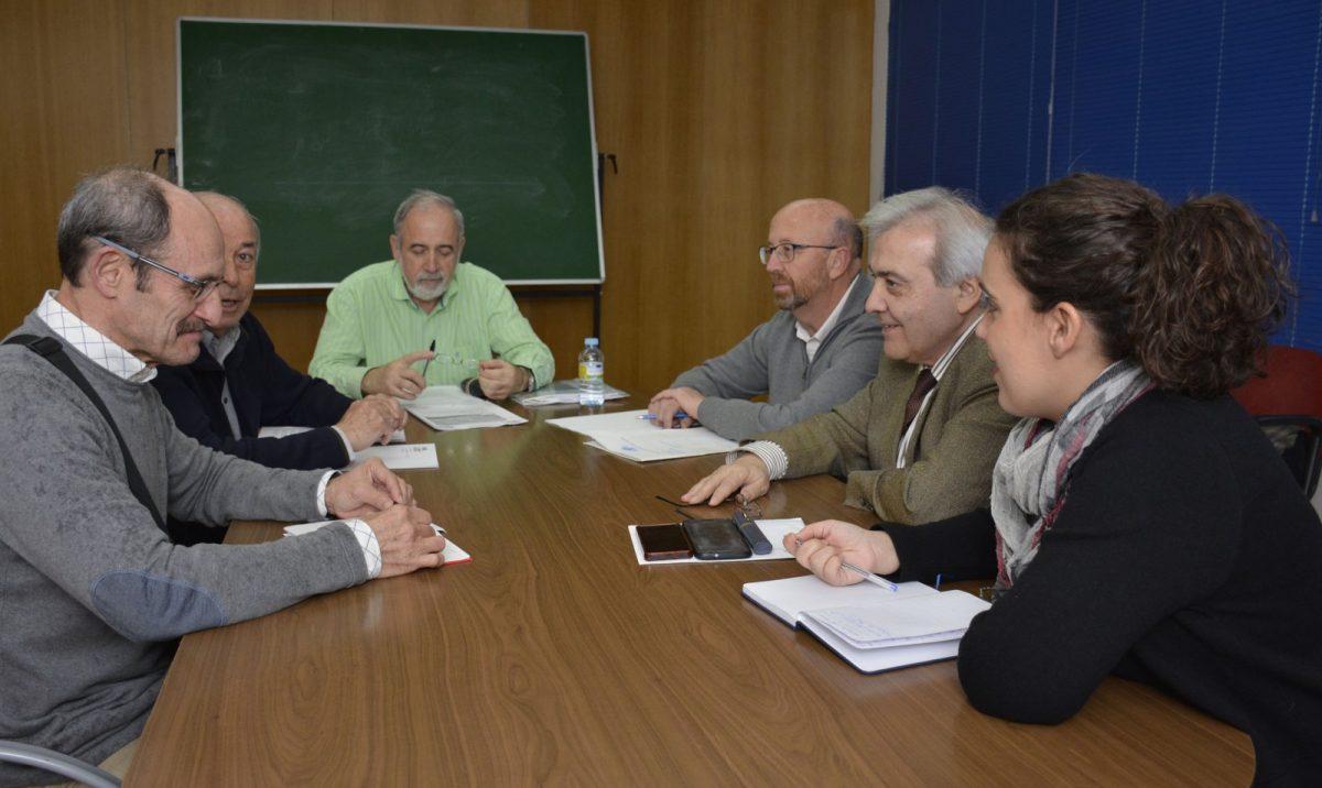 Reunión del Grupo de Trabajo de Tráfico del Polígono para abordar la situación del barrio en materia de seguridad vial