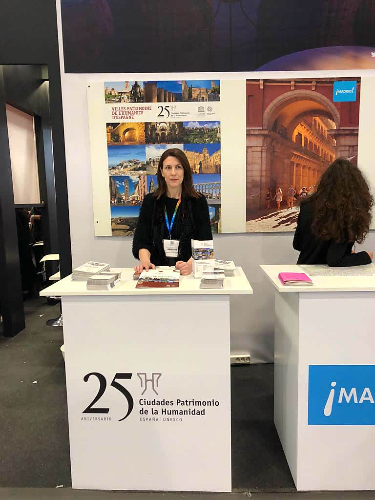 Toledo promociona su oferta patrimonial y cultural en el Salón Mundial de Turismo de París que tiene lugar del 15 al 18 de marzo