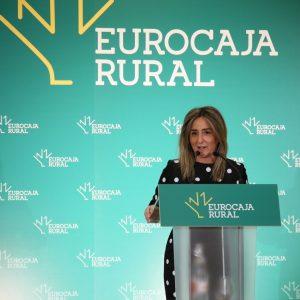 Milagros Tolón destaca la posición de liderazgo de Eurocaja Rural y la labor social que desarrolla su Fundación