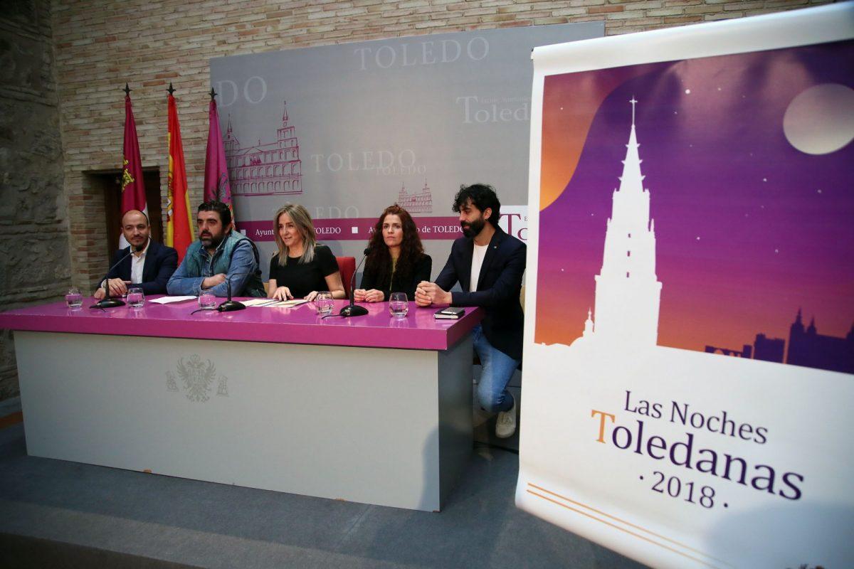 Milagros Tolón destaca la ciudad como referente cultural gracias a iniciativas como 'Las Noches Toledanas' con más de 70 actividades