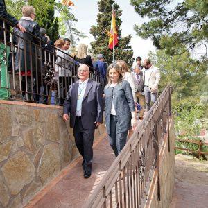 La Virgen de La Cabeza abre el calendario de romerías de la ciudad y estrena la nueva rampa construida por el Ayuntamiento