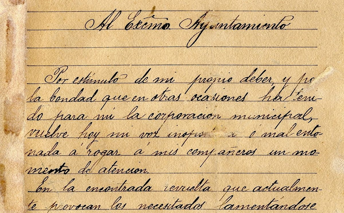 Tomás Gómez de Nicolás y la jornada laboral de ocho horas (1902)